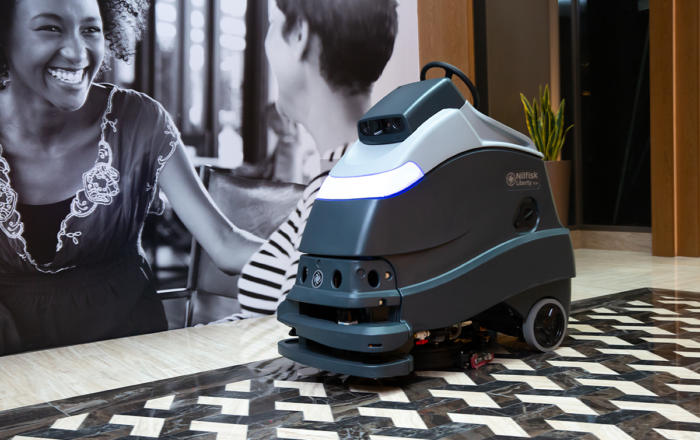 robot cleaning isnaad